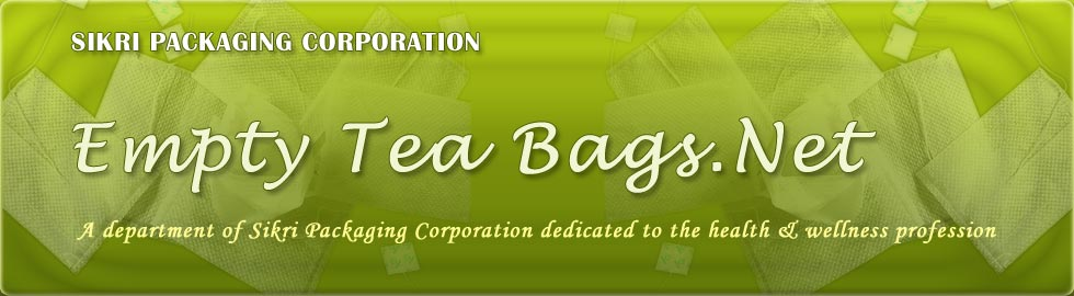 Sikri Packaging Corporation...empty tea bags